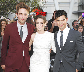 'Twilight' trio in the top 20 Hollywood earners