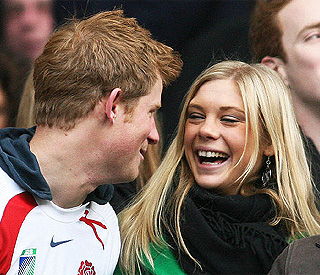 Prince Harry and Chelsy reunited on secret night out