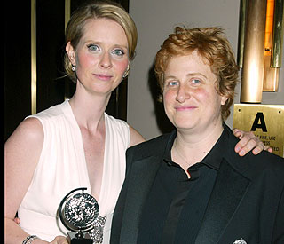 Cynthia Nixon and fiancée welcome baby boy
