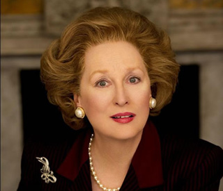First image of Meryl Streep as Margaret Thatcher