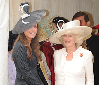 Camilla offers advice to Kate Middleton over lunch