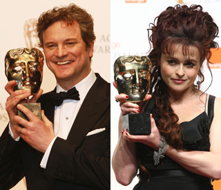 'Thanks to the royals': Helena on 'King's Speech' Bafta