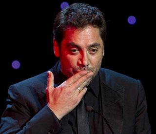 Tender words for wife Penelope from Javier Bardem