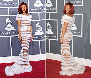 Racy Rihanna's most daring red carpet outfit yet?