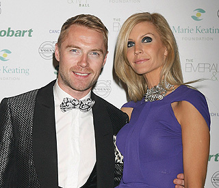 Ronan Keating and wife make a fresh start