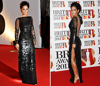 Cheryl Cole is glam and graceful in defeat