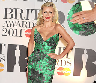 Katherine Jenkins shows off stunning engagement ring