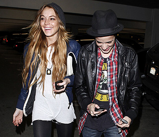 Lindsay Lohan and Samantha Ronson back on?