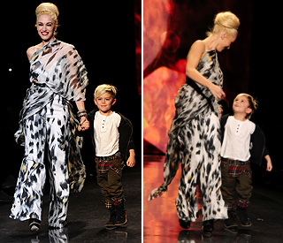 Gwen Stefani's adorable son steals the show