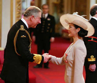 Catherine's pride over Buckingham Palace honour