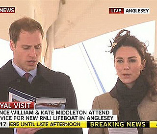 William's fiancé impresses with Welsh skills