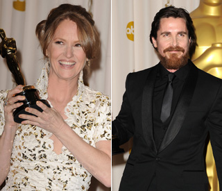 Oscars success for Christian Bale and Melissa Leo