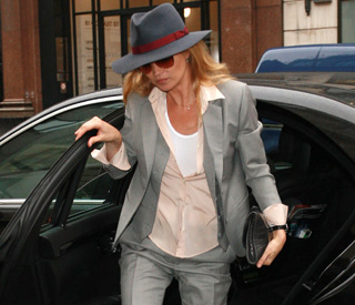 Kate Moss planning on second baby?
