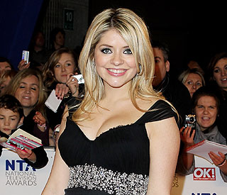 Holly Willoughby back at work after hospital scare