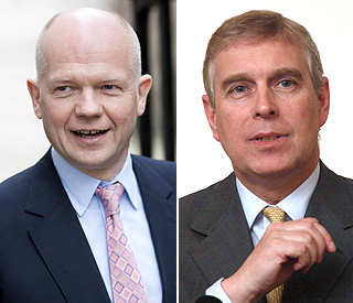 Minister William Hague defends Prince Andrew