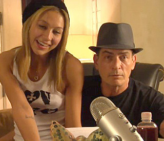 Charlie Sheen and goddess split – and then reunite