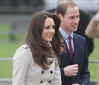 Kate Middleton and Prince William visit Northern Ireland