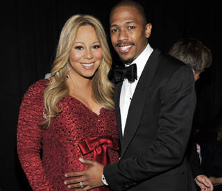 A pink and blue affair for Mariah Carey's baby shower