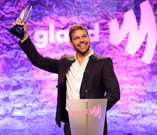 Ricky Martin honoured for his work in gay community