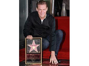 Bryan Adams gets Hollywood star
