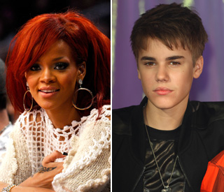 Rihanna and Justin Bieber join forces for Japan aid