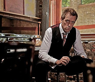 Hugh Laurie launches career as blues musician