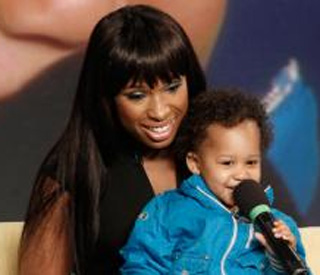 Jennifer Hudson's adorable son steals the show