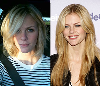 Up for the chop: Brooklyn Decker's hair loses 10in