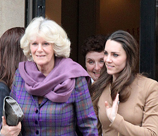 'We're very lucky': Camilla on new step-daughter-in-law