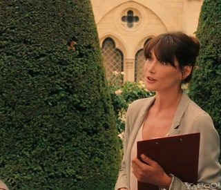 Carla Bruni's acting debut revealed
