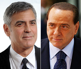 George Clooney named as Berlusconi defence witness