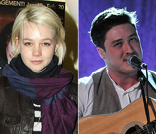 Carey Mulligan 'besotted' with Mumford & Sons singer