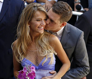 Canadian crooner Michael Buble weds in Argentina