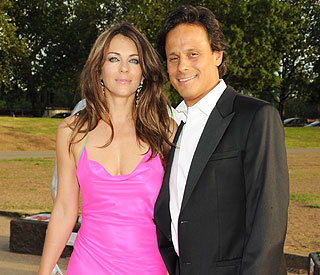 Elizabeth Hurley files for divorce from husband Arun