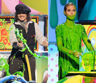 Adults behaving badly at Kids' Choice Awards