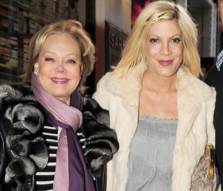 Tori Spelling and mum Candy put feud behind them