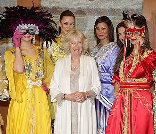 Fashion first for Camilla as royal tour arrives in Morocco