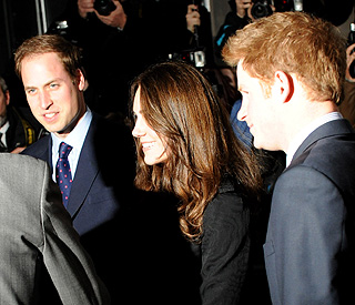 William and Kate to live with Harry after the wedding