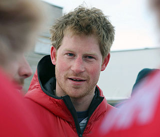 Prince Harry arrives back in the UK after Arctic trek