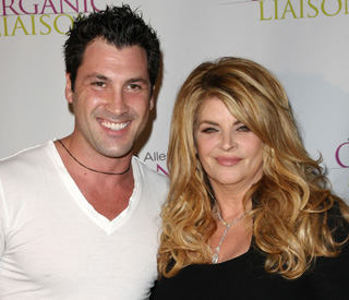 Dancing drama for Kirstie Alley and partner