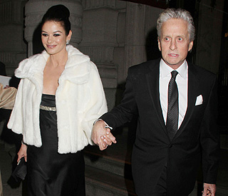 Michael and family rally round Catherine Zeta-Jones