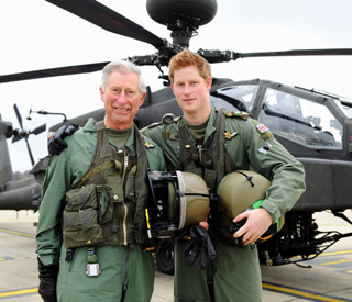 Prince Harry promoted to captain in British army