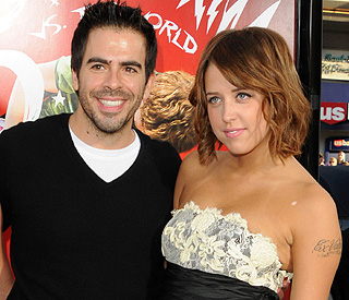 Peaches Geldof and her ex Eli Roth reunite in LA