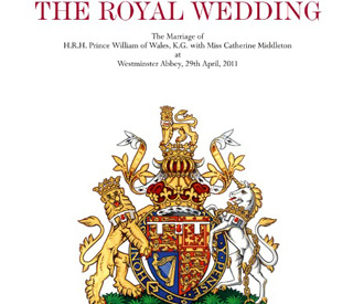 Royal wedding: Official programme released