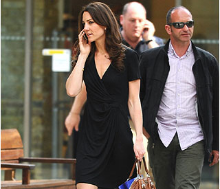Kate hits high street for honeymoon buys