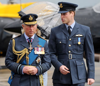 William to spend evening before wedding with Charles