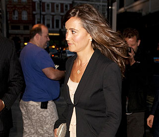 Kate's sister Pippa is picture perfect on night out