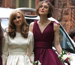 Keira Knightley bridesmaid at brother's wedding