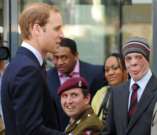 Prince William remembers war heroes on big day