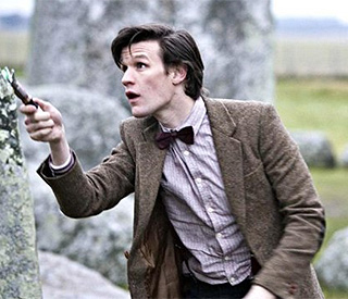 'Dr Who's Matt Smith receives first Bafta nod